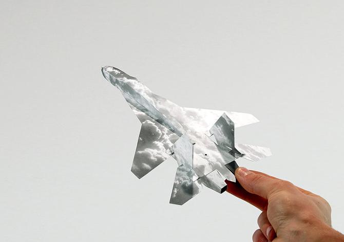 Lampada Origami Di Edward Chew : Grafica: paper planes gli origami fai da te osso magazine